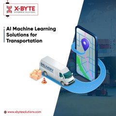 Top AI and ML Solutions for Transportation | X-Byte Enterprise Solutions