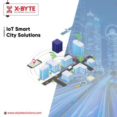 IoT Technology for Smart City Solutions | IoT Solutions | X-Byte Enterprise Solutions